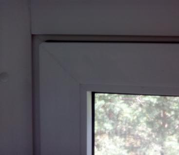 Более герметичное окно после замены уплотнителя