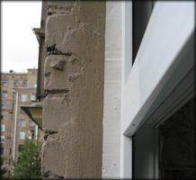 Герметизация оконного шва цементом